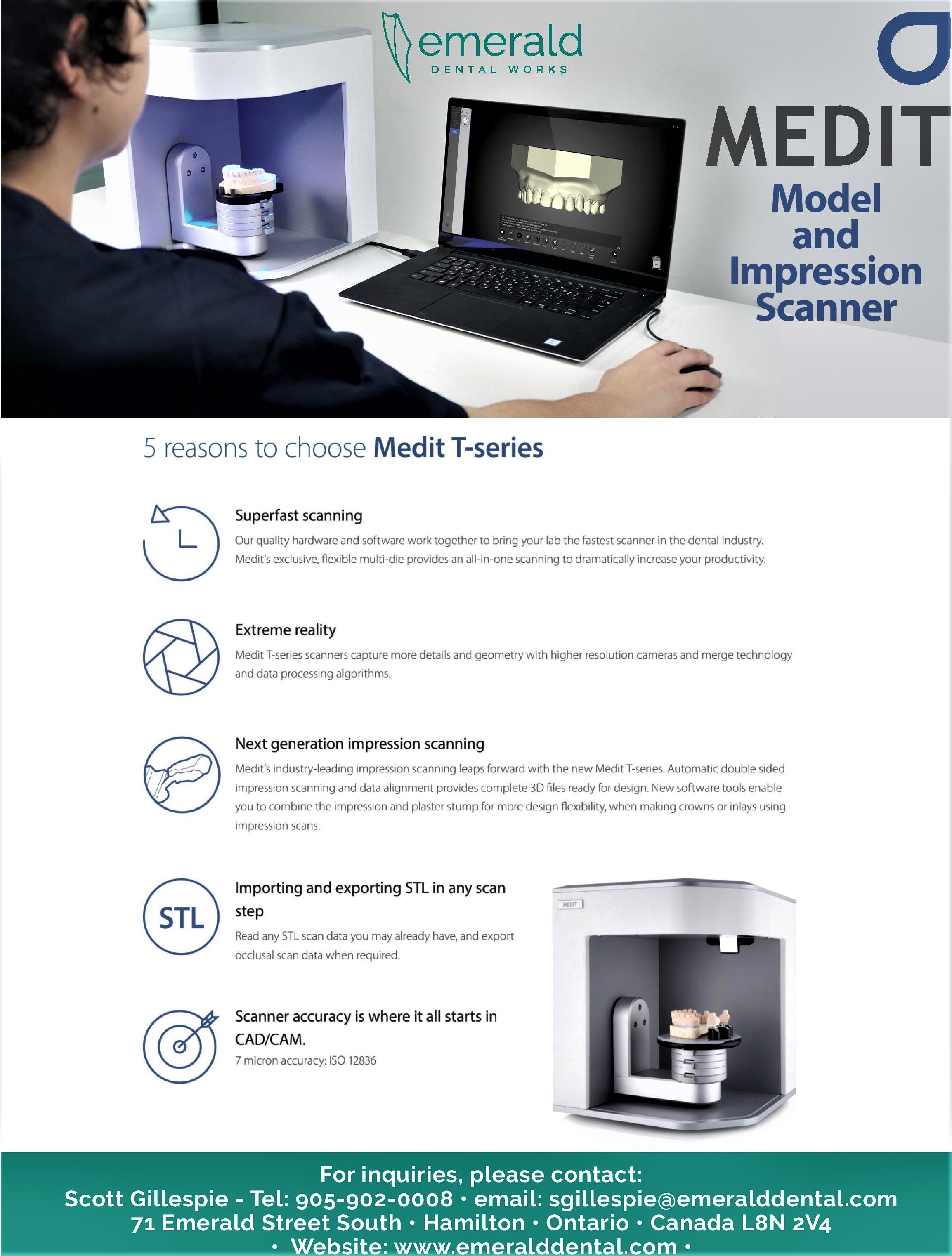Medit I500 Intraoral Scanner