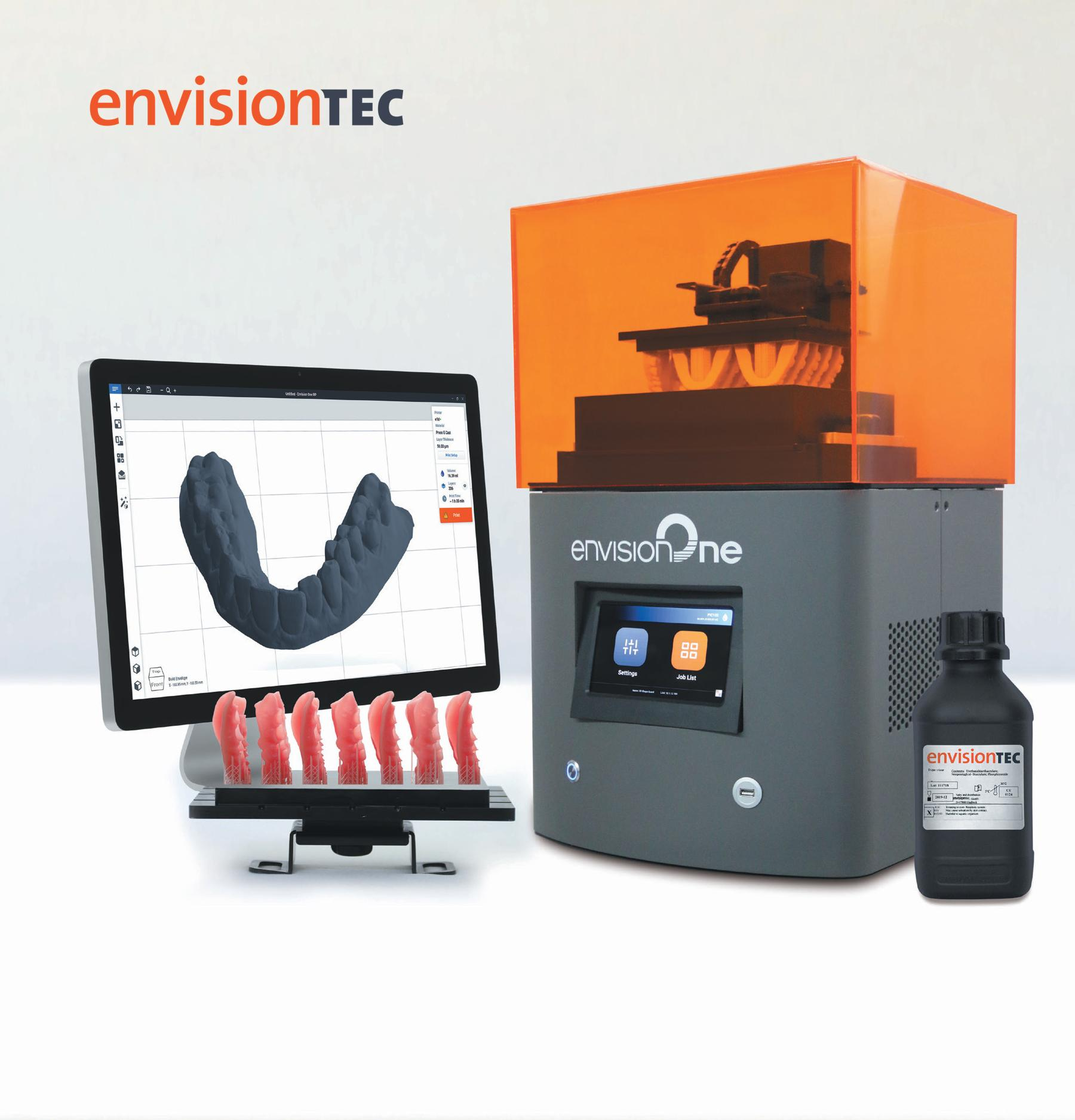 The New Envision One Desktop 3D Printer