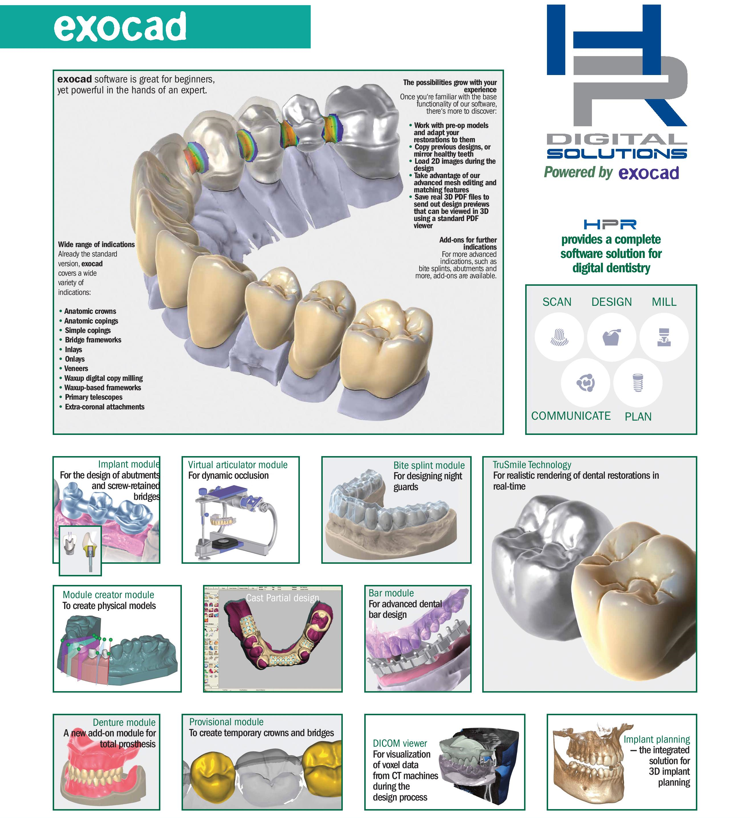 A complete software solution for Digital Dentistry